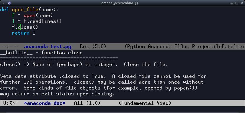 Programming Python in Emacs | skybert net